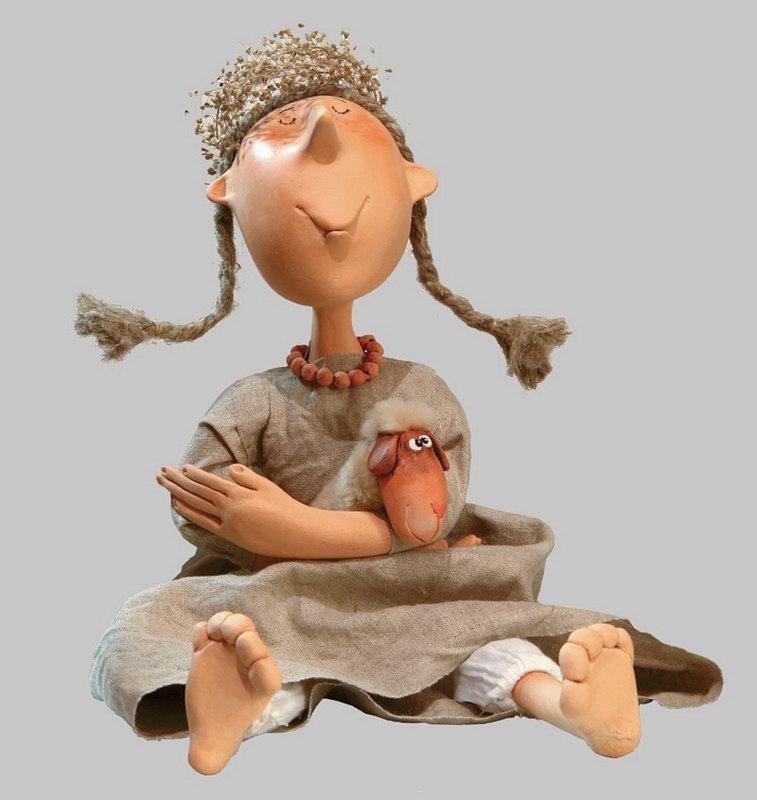 Плетение кос для кукол